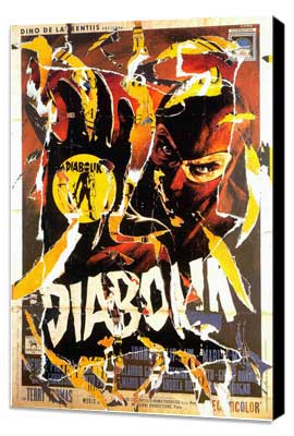Danger: Diabolik - 27 x 40 Movie Poster - Italian Style A - Museum Wrapped Canvas
