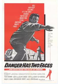 Danger Has Two Faces - 11 x 17 Movie Poster - Style A