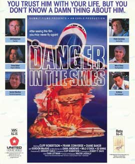 Danger in the Skies - 11 x 17 Movie Poster - Style A