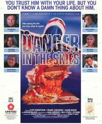 Danger in the Skies - 27 x 40 Movie Poster - Style A