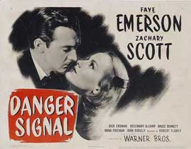 Danger Signal - 11 x 17 Movie Poster - Style A