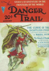 Danger Trail, The (Pulp) - 11 x 17 Pulp Poster - Style A