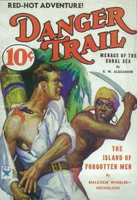 Danger Trail, The (Pulp) - 11 x 17 Pulp Poster - Style B