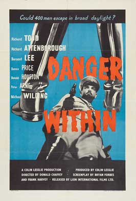 Danger Within - 11 x 17 Movie Poster - UK Style A
