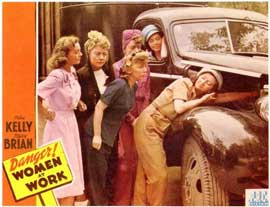 Danger! Women at Work - 11 x 14 Movie Poster - Style A