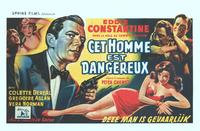 Dangerous Agent - 14 x 22 Movie Poster - Belgian Style A