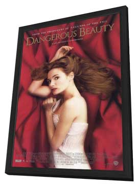 Dangerous Beauty - 11 x 17 Movie Poster - Style A - in Deluxe Wood Frame