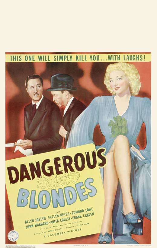 Dangerous Blondes movie