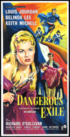 Dangerous Exile - 27 x 40 Movie Poster - UK Style A