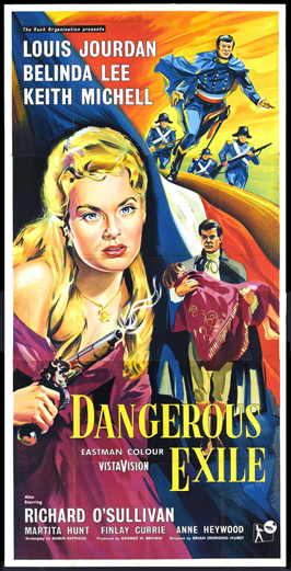 Dangerous Exile - 11 x 17 Movie Poster - UK Style A