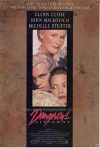 Dangerous Liaisons - 43 x 62 Movie Poster - Bus Shelter Style A