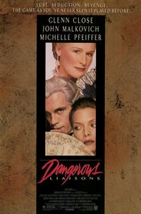 Dangerous Liaisons - 11 x 17 Movie Poster - Style A - Museum Wrapped Canvas