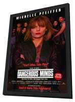 Dangerous Minds - 11 x 17 Movie Poster - Style A - in Deluxe Wood Frame