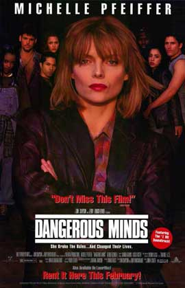 Dangerous Minds - 11 x 17 Movie Poster - Style A