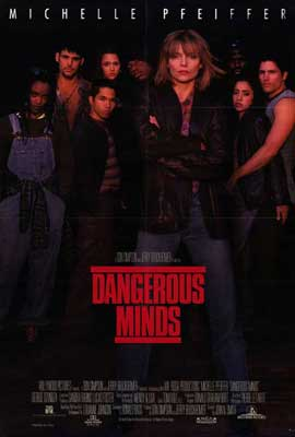 Dangerous Minds - 27 x 40 Movie Poster - Style A