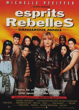 Dangerous Minds - 11 x 17 Movie Poster - French Style A