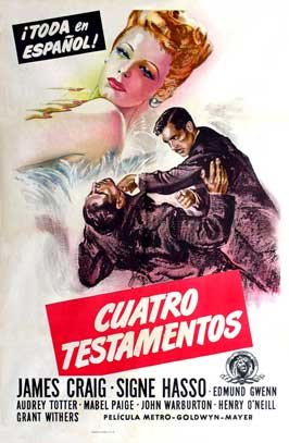 Dangerous Partners - 27 x 40 Movie Poster - Spanish Style A