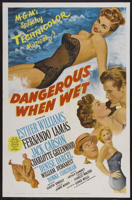 Dangerous When Wet - 27 x 40 Movie Poster - Style A