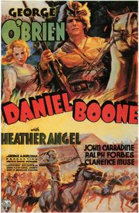 Daniel Boone - 43 x 62 Movie Poster - Bus Shelter Style A