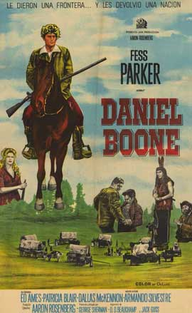 Daniel Boone (TV) - 11 x 17 TV Poster - Style A