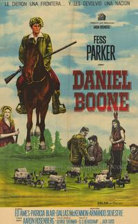 Daniel Boone (TV) - 27 x 40 TV Poster - Style A