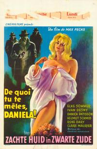 Daniela, Criminal Strip-Tease - 27 x 40 Movie Poster - Belgian Style A