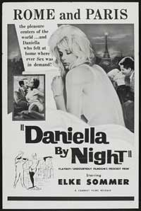 Daniela, Criminal Strip-Tease - 27 x 40 Movie Poster - Style A