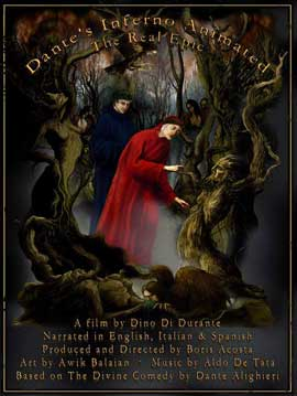 Dante's Inferno Animated - 11 x 17 Movie Poster - Style A