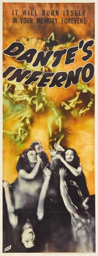 Dante's Inferno - 14 x 36 Movie Poster - Insert Style A