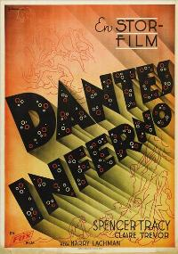 Dante's Inferno - 43 x 62 Movie Poster - Swedish Style A