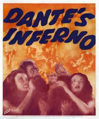 Dante's Inferno - 30 x 30 Movie Poster - Style A