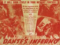 Dante's Inferno - 30 x 40 Movie Poster UK - Style A