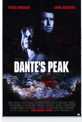 Dante's Peak - 27 x 40 Movie Poster - Style B