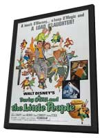 Darby O'Gill and the Little People - 27 x 40 Movie Poster - Style A - in Deluxe Wood Frame