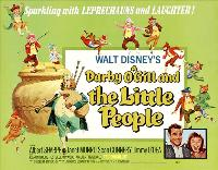 Darby O'Gill and the Little People - 30 x 40 Movie Poster UK - Style A