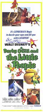 Darby O'Gill and the Little People - 14 x 36 Movie Poster - Insert Style A
