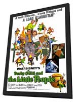 Darby O'Gill and the Little People - 11 x 17 Movie Poster - Style A - in Deluxe Wood Frame
