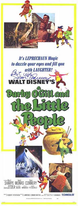 Darby O'Gill and the Little People - 11 x 17 Movie Poster - Style B