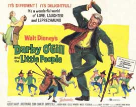 Darby O'Gill and the Little People - 11 x 14 Movie Poster - Style D