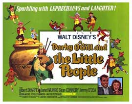 Darby O'Gill and the Little People - 22 x 28 Movie Poster - Half Sheet Style A