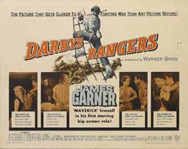 Darby's Rangers - 22 x 28 Movie Poster - Half Sheet Style A