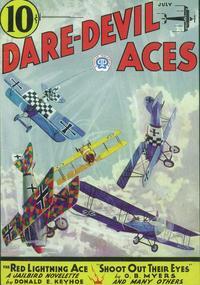 Dare-Devil Aces (Pulp) - 11 x 17 Pulp Poster - Style B