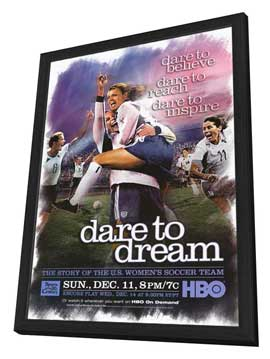 Dare to Dream - 11 x 17 Movie Poster - Style A - in Deluxe Wood Frame