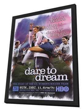 Dare to Dream - 27 x 40 Movie Poster - Style A - in Deluxe Wood Frame