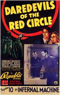 Daredevils of the Red Circle - 11 x 17 Movie Poster - Style B