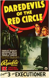 Daredevils of the Red Circle - 43 x 62 Movie Poster - Bus Shelter Style A