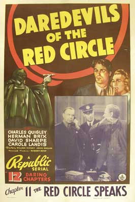 Daredevils of the Red Circle - 11 x 17 Movie Poster - Style C