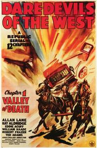 Daredevils of the West - 11 x 17 Movie Poster - Style A
