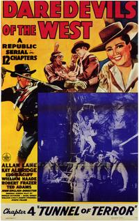 Daredevils of the West - 27 x 40 Movie Poster - Style B