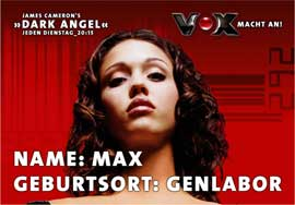 Dark Angel - 11 x 17 Movie Poster - German Style B